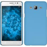 Hardcase for Samsung Galaxy On5 rubberized light blue