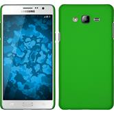 Hardcase for Samsung Galaxy On7 rubberized green