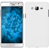 Hardcase for Samsung Galaxy On7 rubberized white