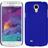 Hardcase for Samsung Galaxy S4 Mini Plus rubberized blue