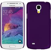 Hardcase for Samsung Galaxy S4 Mini Plus rubberized purple