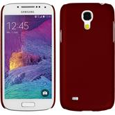 Hardcase for Samsung Galaxy S4 Mini Plus rubberized red