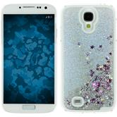 Hardcase for Samsung Galaxy S4 Stardust silver
