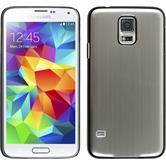 Hardcase for Samsung Galaxy S5 metallic silver