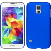 Hardcase for Samsung Galaxy S5 mini rubberized blue