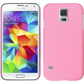 Hardcase for Samsung Galaxy S5 mini rubberized pink