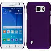 Hardcase for Samsung Galaxy S6 Active rubberized purple