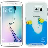 Hardcase for Samsung Galaxy S6 Edge Ducklings Design:02