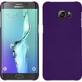 Hardcase for Samsung Galaxy S6 Edge Plus rubberized purple
