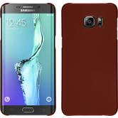 Hardcase for Samsung Galaxy S6 Edge Plus rubberized red