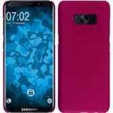 Hardcase Galaxy S8 Plus rubberized hot pink