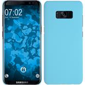 Hardcase Galaxy S8 Plus rubberized light blue