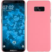 Hardcase Galaxy S8 rubberized pink