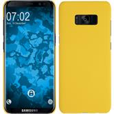 Hardcase Galaxy S8 rubberized yellow