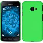 Hardcase Galaxy Xcover 4 rubberized green