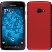 Hardcase Galaxy Xcover 4 rubberized red