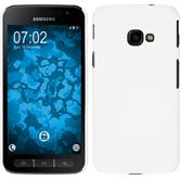 Hardcase Galaxy Xcover 4 rubberized white