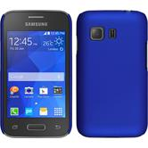 Hardcase for Samsung Galaxy Young 2 rubberized blue