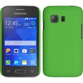 Hardcase for Samsung Galaxy Young 2 rubberized green