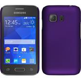 Hardcase for Samsung Galaxy Young 2 rubberized purple