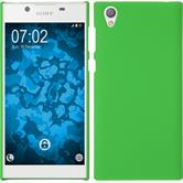 Hardcase Xperia L1 rubberized green