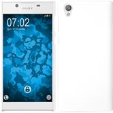Hardcase Xperia L1 rubberized white