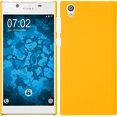 Hardcase Xperia L1 rubberized yellow