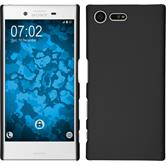 Hardcase for Sony Xperia X Compact rubberized black