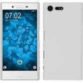 Hardcase for Sony Xperia X Compact rubberized white