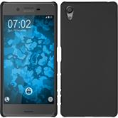 Hardcase for Sony Xperia X rubberized black