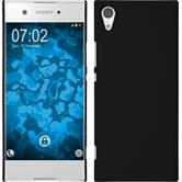 Hardcase Xperia XA1 rubberized black