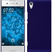 Hardcase Xperia XA1 rubberized blue