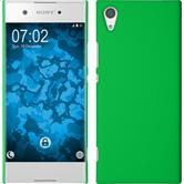 Hardcase Xperia XA1 rubberized green