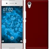 Hardcase Xperia XA1 rubberized red