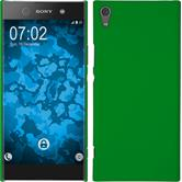 Hardcase Xperia XA1 Ultra rubberized green
