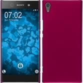 Hardcase Xperia XA1 Ultra rubberized hot pink
