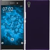 Hardcase Xperia XA1 Ultra rubberized purple
