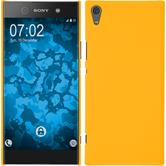 Hardcase Xperia XA1 Ultra rubberized yellow