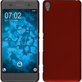 Hardcase for Sony Xperia XA rubberized red