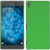 Hardcase for Sony Xperia XA Ultra rubberized green