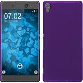 Hardcase for Sony Xperia XA Ultra rubberized purple