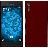 Hardcase for Sony Xperia XZ rubberized red