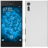 Hardcase for Sony Xperia XZ rubberized white