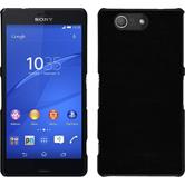 Hardcase for Sony Xperia Z3 Compact leather optics black