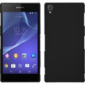 Hardcase for Sony Xperia Z3 rubberized black