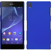 Hardcase for Sony Xperia Z3 rubberized blue