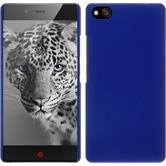 Hardcase for ZTE Nubia Z9 Max rubberized blue