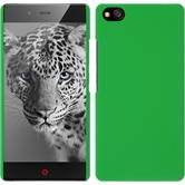 Hardcase for ZTE Nubia Z9 Max rubberized green