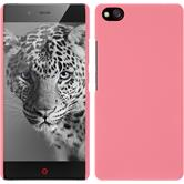 Hardcase for ZTE Nubia Z9 Max rubberized pink