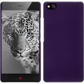Hardcase for ZTE Nubia Z9 Max rubberized purple